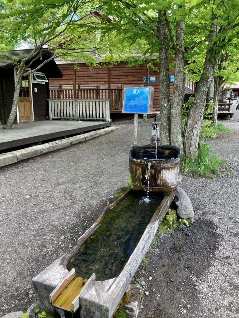 北軽井沢スウィートグラスのトイレ