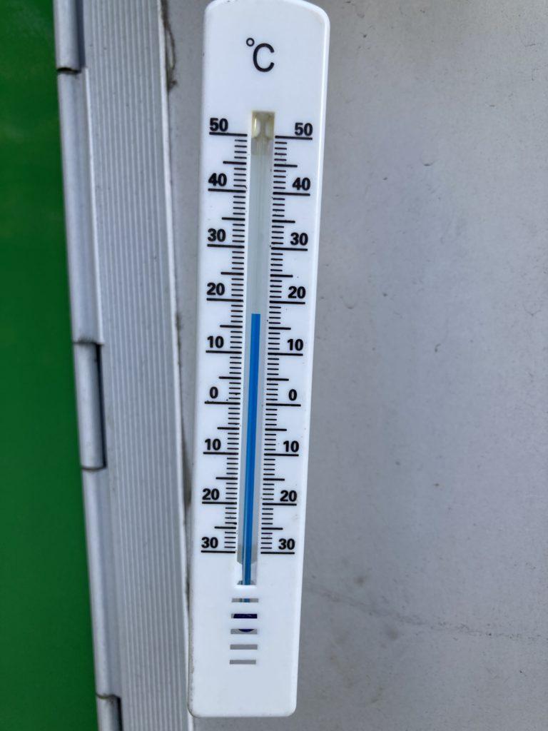 5月に北軽井沢スウィートグラスでキャンプの気温