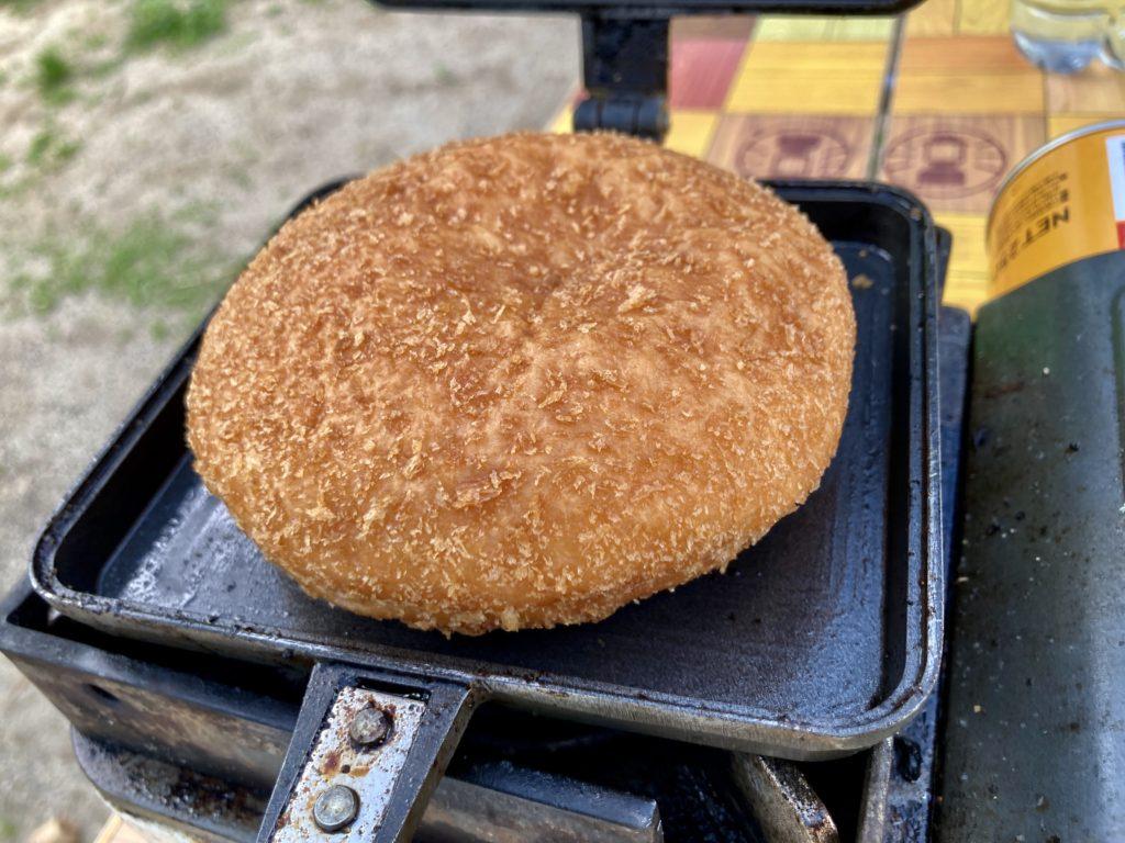 ホットサンドメーカー料理でカレーパンを焼いてみた