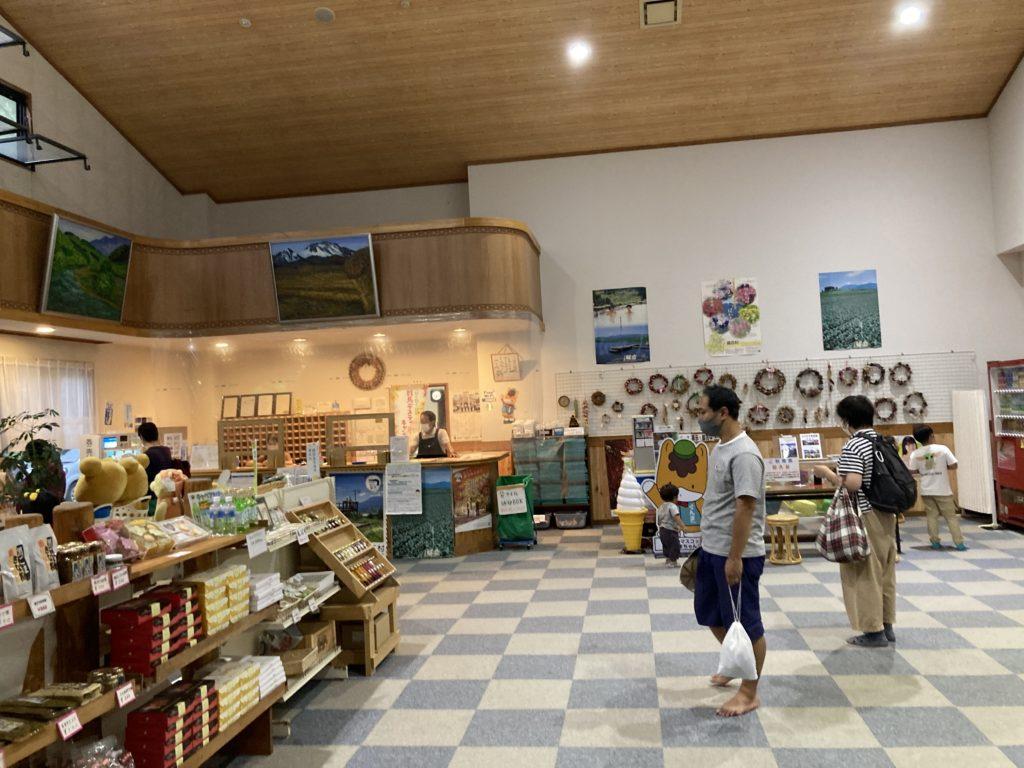 嬬恋バラキ高原「湖畔の湯」エントランス