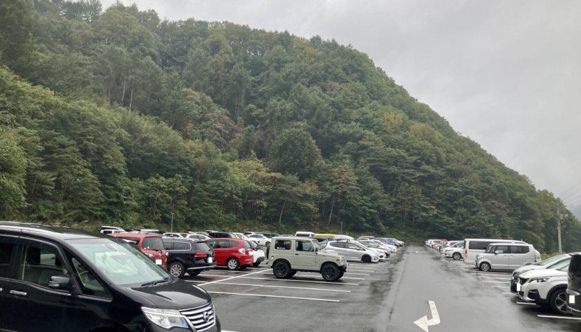 エブリィワゴンで行く尾瀬の駐車場「尾瀬第一駐車場(尾瀬戸倉)」車中泊