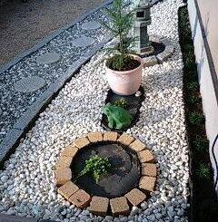 日本庭の自作
