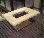 バーベキューテーブルの自作