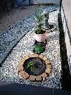 日本庭の飛石や玉砂利
