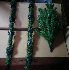 クリスマスツリー支柱