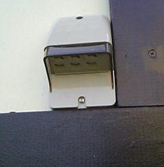 外部電源タップ自作取り付け